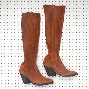 Jeffrey Campbell | Gatlin Suede Over the knee Boot